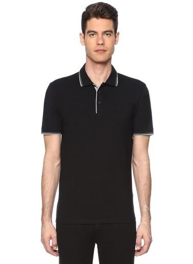 George Hogg Erkek 7003320 Polo Yaka Slım Fit Tshirt Siyah
